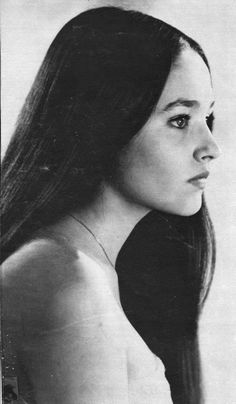 British actors Olivia Hussey  'Romeo and Juliet'.