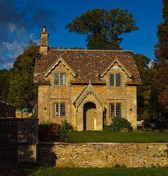 Cottage at Westonbirt Arboretum in Gloucestershire
