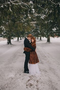 If I ever get married, it WILL be in the snow...with Rocco by my side:)