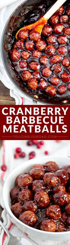 BBQ Meatballs Cranberry Barbecue Meatballs - a delicious appetizer recipe that's perfect for the holidays or game day!Cranberry Barbecue Meatballs - a delicious appetizer recipe that's perfect for the holidays or game day! No Cook Appetizers, Holiday Appetizers, Appetizer Recipes, Delicious Appetizers, Mexican Appetizers, Halloween Appetizers, Thanksgiving Appetizers, Appetizer Ideas, Avacado Appetizers