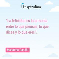 #Frases #Ghandi #Felicidad