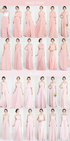 sand pink and blush pink bridesmaid dresses - You are in the right place about Bridesmaid Outfit ideas Here we offer you the most beautiful Pink Brides Maid Dresses, Garden Bridesmaids Dresses, Blush Pink Bridesmaid Dresses, Bridesmaid Outfit, Wedding Bridesmaid Dresses, Wedding Blush, Dress Wedding, Pink Dresses, Dresses Uk