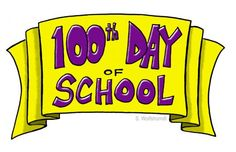 PTO Today 100th Day of School Banner from our Clip Art Gallery