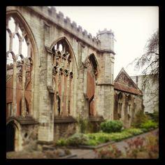 Temple Church in Bristol...