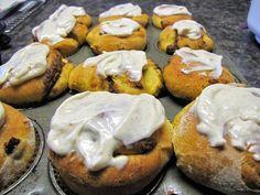 JaJa's Club: Pumpkin Swirl Bread and Buns - Organic