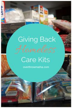 Giving Back: Make Homeless Care Kits to keep in your car #Kindness #DIY