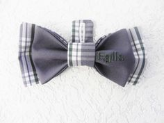 Egils Personalized Hand made Betolli Bow tie