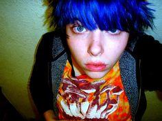 Blue hair spring 2009.