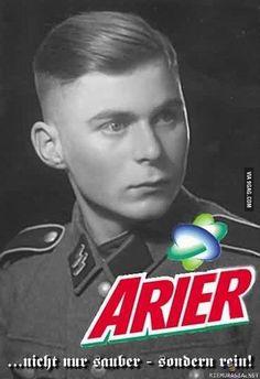 Arier (Arjalainen). Ei vain pesty...vaan erityisen puhdas (rotupuhdas). Satire Humor, Cool Pictures, Funny Pictures, Man Humor, Growing Up, Haha, Jokes, Teen, In This Moment