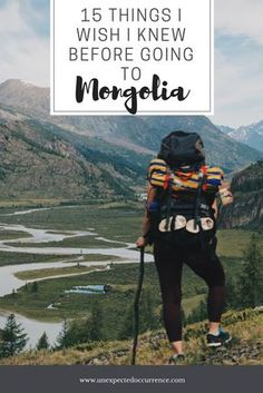 What I wish I knew before going to Mongolia l Mongolia trekking & hiking