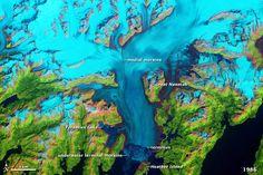 Alaska's Columbia Glacier in 1986.
