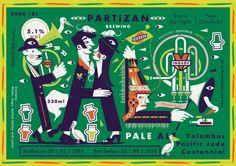 Partizan Brewing - Pale Ale G000-101