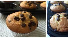 Čokoládovo – jogurtové muffiny Sweet Recipes, Breakfast, Food, Basket, Morning Coffee, Essen, Meals, Yemek, Eten