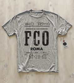Rome tee by Pilot & Captain  www.pilotandcaptain.com