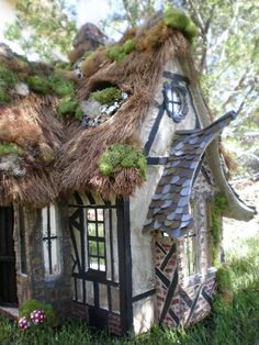 Inspiration for fairy houses.
