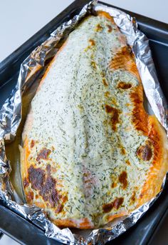 Fish And Seafood, Lchf, Lasagna, Love Food, Banana Bread, Grilling, Food And Drink, Dinner, Ethnic Recipes
