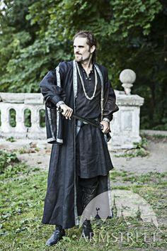 Costume médiéval de tunique et surcot d'Europe orientale d'ArmStreet