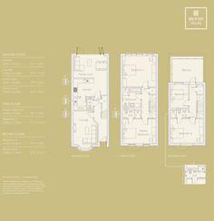 Neat floor plan for a typical terraced. www.methodstudio.london