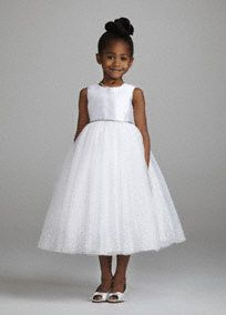 b3723413844 This charming and delicate tea length ball gown will be perfect for your flower  girl on