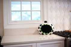 #Black Dot #Cookie #Jar with #Blackboard Attachment TODAY, 9/27/13 ONLY! Enter to win a $50 @Coton Colors gift card. #SportsFanFriday #Giveaway #home #kitchen #gift #cookiejar #sports #football #basketball #tennis #fishing #golf #baseball #hunting www.thestyleref.com
