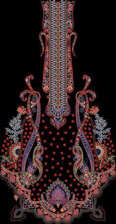 Paisley Wallpaper, Paisley Art, Border Design, Pattern Design, Graphic Design Art, Print Design, Border Embroidery Designs, Turkish Art, Fun Diy Crafts