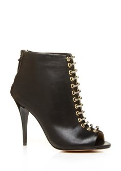L.A.M.B. Tony Booties in Black