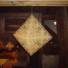 himmeli, puzari, pajak, himelli, straw mobile Handmade Ornaments, Shop Usa, Twine, Mobiles, Traditional, Straws, Cube, Folk, Home Decor