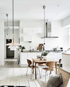 La decoración nórdica es simple, minimalista. El componente más importante para logar un proyecto al estilo nórdico es la luz natural!