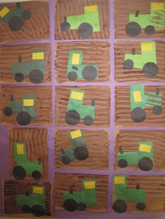 Tractors. Springtime craft?