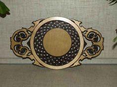 Ажурная декоративная тарелка