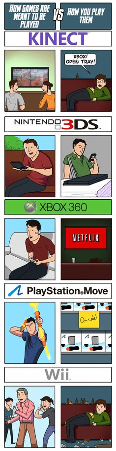 How Games Are Meant To Be Played vs. How You Play Them,funny game, tech, internet, pc related pictures, gamers, gaming, geek humor, pc geeks, computer humor, games, video games, pc games, game shop, gamer, internet humor, Tech humor, pc, internet, Tech, geek, nerd, internet geek, comic book, gadget, gamer geek, pop culture, funny, humor