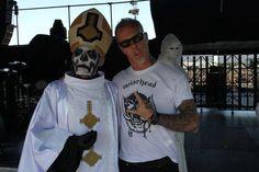 Papa Emeritus (Ghost B.C.) and Papa Het