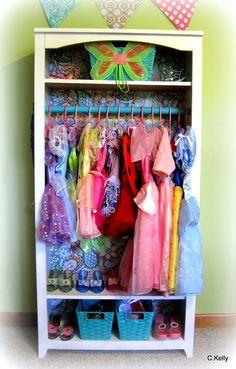 shelf into dress up closet - Google Search