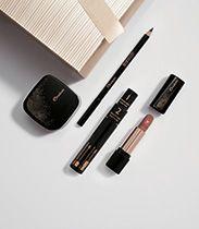 Kit Exclusivo Maquiagem Natura Una - Base Mousse + Máscara + Batom Intenso + Lápis Kajal + Caixa para Presente #chamenatura #chamequevem #mechamejanelobato