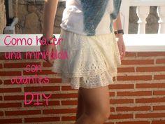 Como hacer una falda con volantes: (Patrón gratis) de falda con volantes en patronesmujer.com
