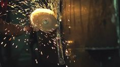 Metal Grinding. Metal Sawing. Electric Wheel Grinding Process On Steel Structure. Full HD 1920x1080 Video Footage, High Speed Camera Shot 240 Fps, Slow Motion Stockowy materiał wideo 7460362 - Shutterstock