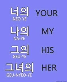 Pronoun #words #vocabulary #hangul #learnkorean