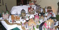My first Christmas Village