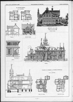 Castle Floor Plan, House Floor Plans, Wooden Architecture, Historical Architecture, Victorian Homes, Tool Kit, Taj Mahal, Blue Prints, Flooring