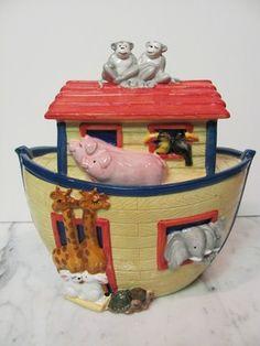 Noah's Ark Cookie Jar - Cook's Club