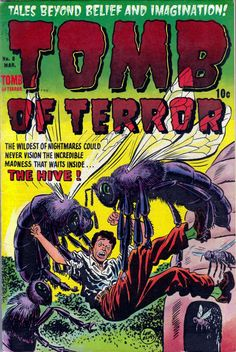 Comic Book Cover For Tomb of Terror #8