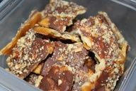crackers, chocolate & nuts