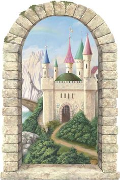 Castle Wallpaper | Steve's Blinds & Wallpaper