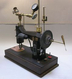 how a sewing machine used to look