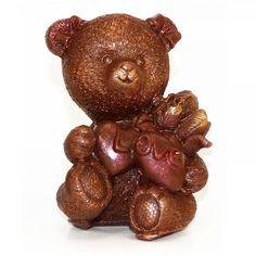 "#Chocolate bear ""Love"" 7 x 4 x 3.5 cm, 40 g #angelinachocolate #chocolategift #chocoholic #chocolates #chocolatelover #sculpture #art #milkchocolate #darkchocolate #dessert #chocolat #chocolatecake #chocolateaddict #ilovechocolate #sweettooth #sweettreats #dessertlover #sweets #chocolaterie #yummy #chocolatelab #food #chocolatelove #chocolatelovers"