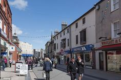 bangor wales. lived there for awhile. not a whole lot going on