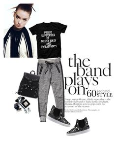 """60 Second Style: Graphic T-Shirts"" by helenevlacho ❤ liked on Polyvore featuring moda, Abercrombie & Fitch, Chiara Ferragni, contestentry y graphicshirt"