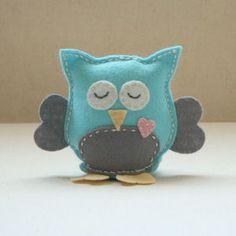 Mr Owl Felt Sewing Kit