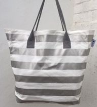 Stylish beach totes at KUKShades Beach Bunny, Large Tote, Summer Wardrobe, Stripes, Tote Bag, Stylish, Cotton, How To Wear, Bags