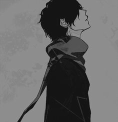 Image de anime, boy, and manga Sad Anime, Cute Anime Boy, Anime Boys, Manga Anime, Anime Art, Anime Triste, Rin Okumura, Boy Gif, Image Manga